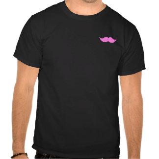 Pink Mustache Moustache Tshirt