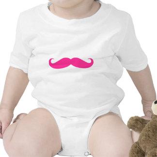 Pink Mustache Stache Design T Shirts