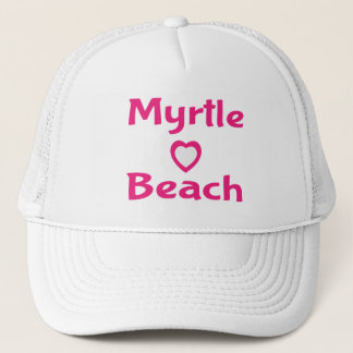 Pink Myrtle Beach South Carolina Baseball Hat