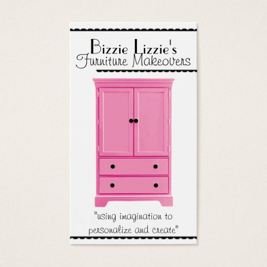 Pink-n-Dots Furniture Business Card