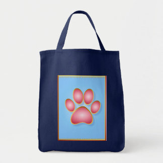 Pink 'n' Gold Kitty Paw Bag