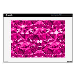 Pink N Hot Diamonds Decal For Laptop