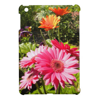 Pink N Orange Gerbera Daisies iPad Mini case