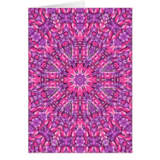 Pink n Purple Colorful Greeting Cards & Envelopes