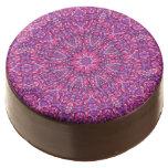 Pink n Purple Kaleidoscope   Dipped Oreo® Cookies
