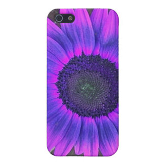 Pink N purple Sunflower iPhone 4 case