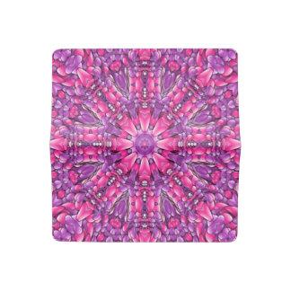 Pink n Purple  Vintage Checkbook Cover