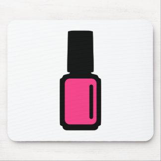 Pink Nail polish Mousepad