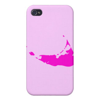 Pink Nantucket Cover For iPhone 4