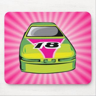 Pink Nascar Mouse Pad