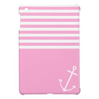 Pink Nautical iPad Mini Covers