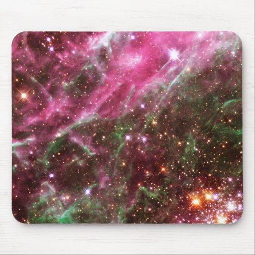 Pink Nebula Mouse Pad