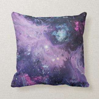 Pink Nebula Pillow