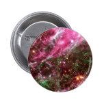 Pink Nebula Pinback Buttons