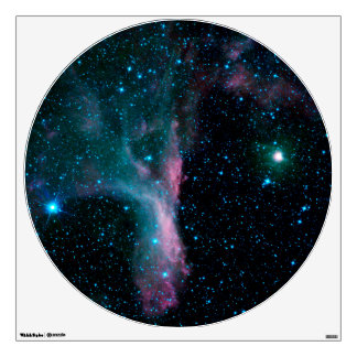 Pink Nebula Wall Decal