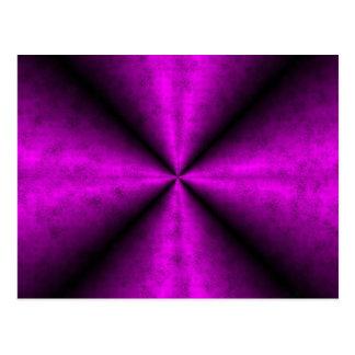 Pink negro regenbogen tarjetas postales