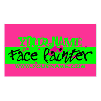 Pink Neon Double-Sided Standard Business Cards (Pack Of 100)