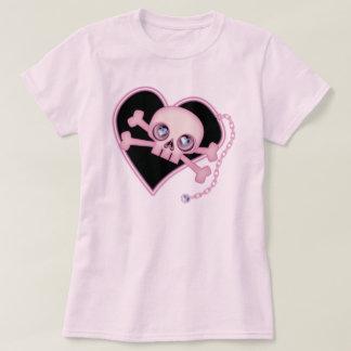 Pink Neon Skull T-Shirt