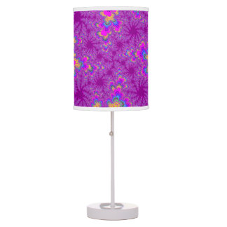 Pink Neon Speckle Table Lamp Lamps