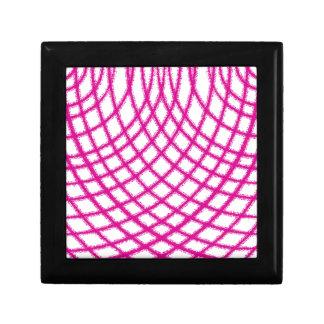 Pink Netting Gift Box