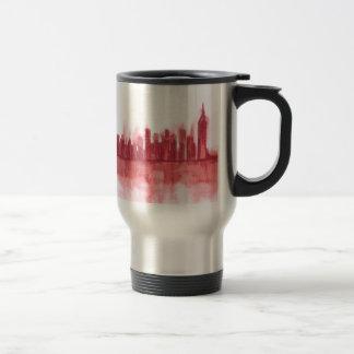 Pink New york city decor Travel Mug