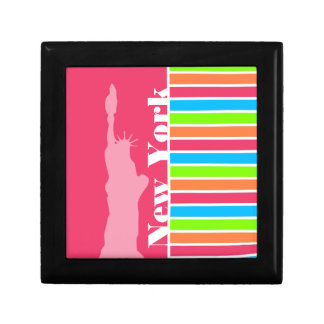 Pink New York Retro Neon Rainbow Gift Boxes