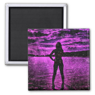 pink Night (U) Magnet