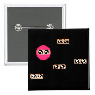 Pink ninja pins