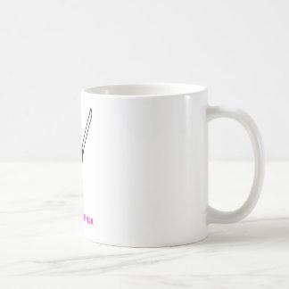 Pink Ninja with Sword Coffee Mug