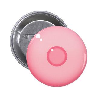 Pink Nipple Pinback Button