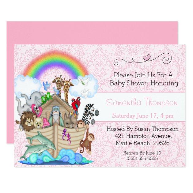 Noahs Ark Baby Shower Invitations was good invitation template