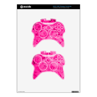 Pink Noodles Xbox 360 Controller Skin