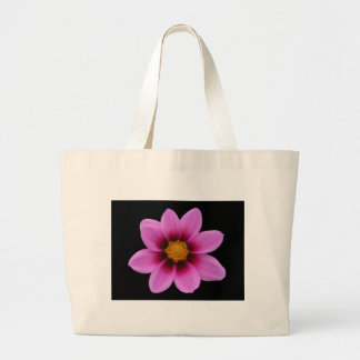 Pink Northwest Cosmos Flower Large Tote Bag
