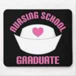 Pink Nursing School Graduate Gift Mouse Pad