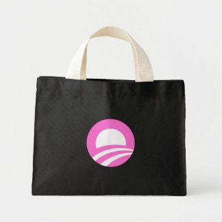 Pink O Canvas Bags
