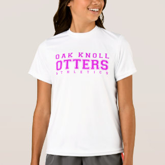 Pink Oak Knoll Athletics T-Shirt