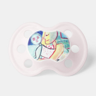 Pink Oasis #3 Baby Pink Pacifier