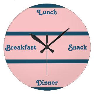 Pink & Ocean Blue Word Clock