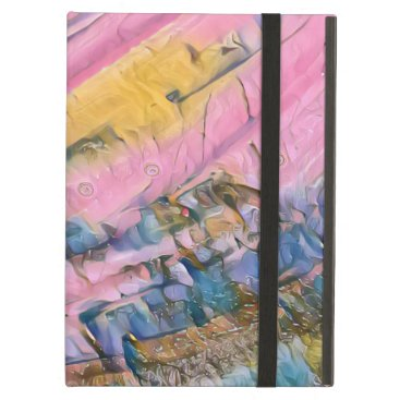 Pink Ocean Waves Abstract Case For iPad Air