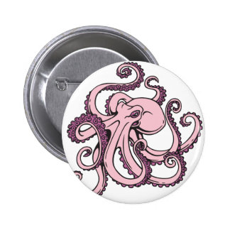 Pink Octopus Pins