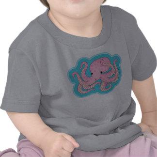Pink Octopus T Shirt