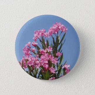 Pink Oleander Button