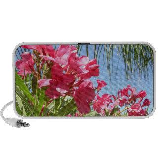 Pink Oleander Dreams Travel Speaker