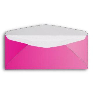 Pink Ombre #10 Envelope