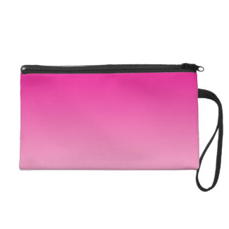 Pink Ombre Wristlet Clutches