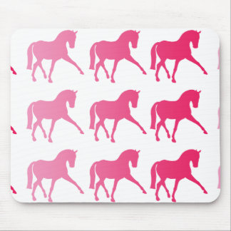 Pink Ombre Dressage Sidepass Mouse Pad