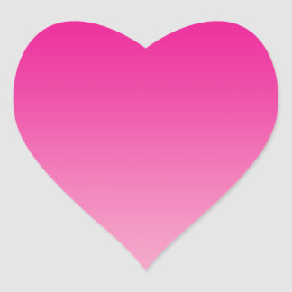 Pink Ombre Heart Sticker
