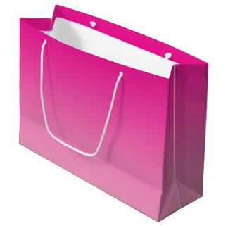 Pink Ombre Large Gift Bag