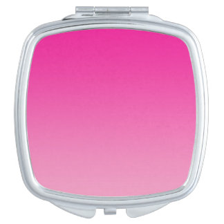 Pink Ombre Makeup Mirror