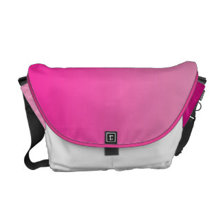 Pink Ombre Courier Bag
